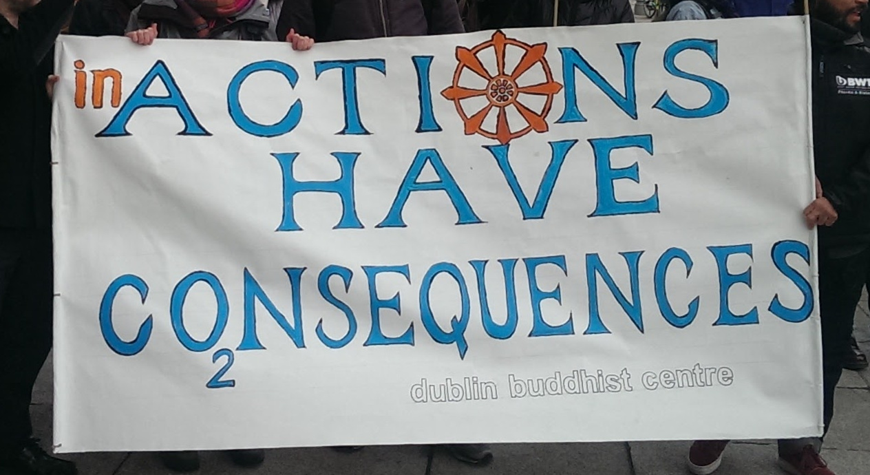 BAM: Actions Have Co2sequences: Climate Meditation at the Dail