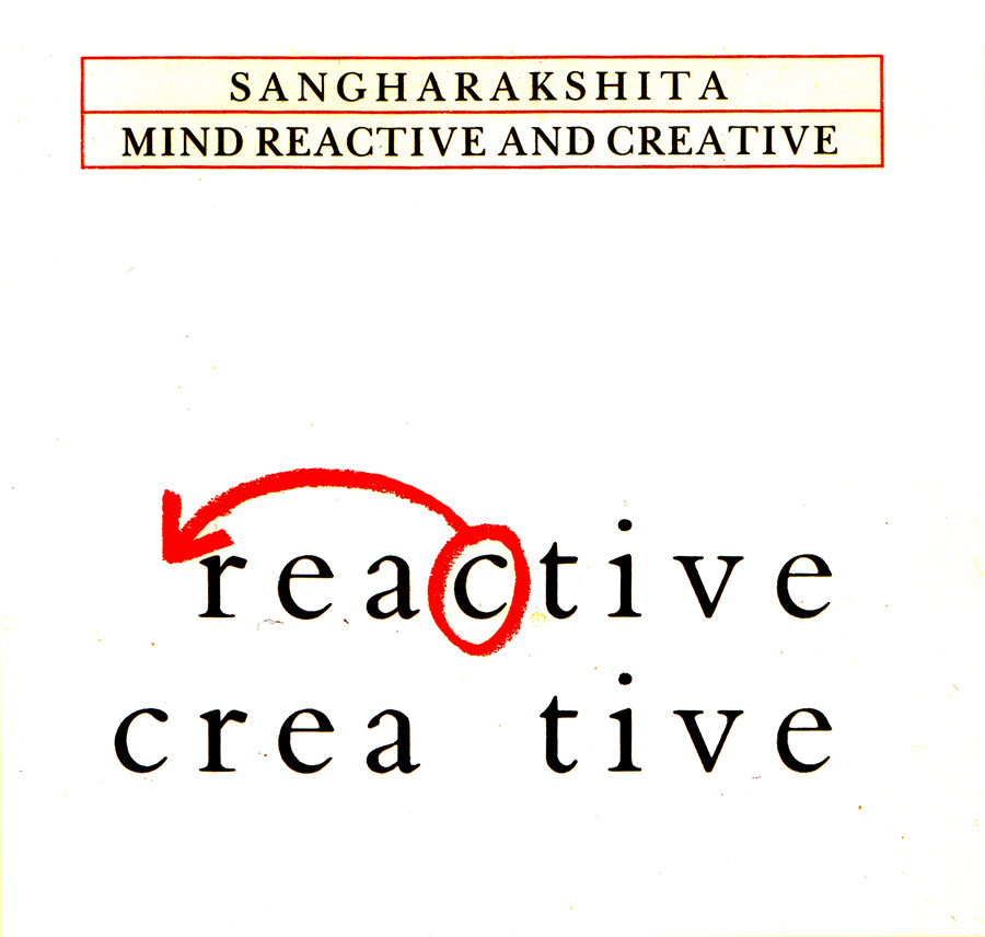 Weekend Retreat - Mind: Reactive and Creative