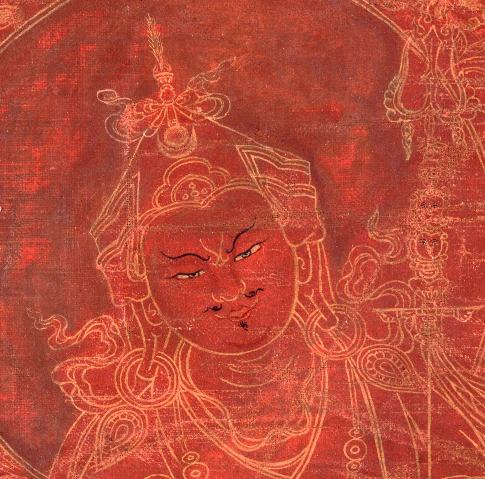 Padmasambhava Face Datail